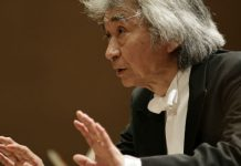 Seiji Ozawa Conductor Columbia Artists Cover