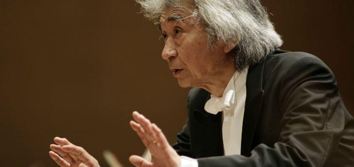Seiji Ozawa Conductor Columbia Artists Cover