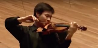 Timothy Chooi Ravel Tzigane Menuhin Competition Cover