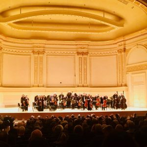 Lisa Batiashvili Carnegie Hall