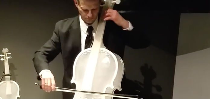 Glass Cello