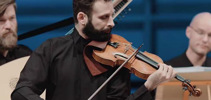 Ilya Gringolts Locatelli violin Concerto Cover
