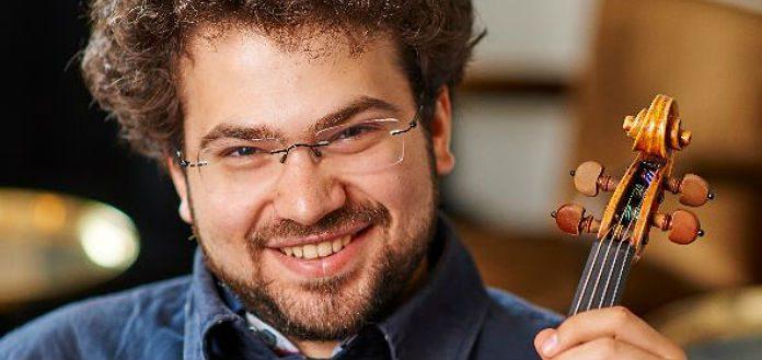 Jonian-Ilias Kadesha Violin Violinist Cover