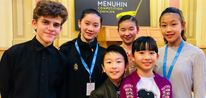 Junior Menuhin Competition Finalists 2018 Cover