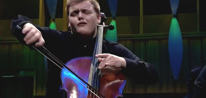 Maxim Calver Cello BBC Young Performers Cover