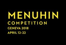 Menuhin Competition Geneva 2018 Cover