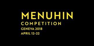 Menuhin Competition Geneva 2018 Cover