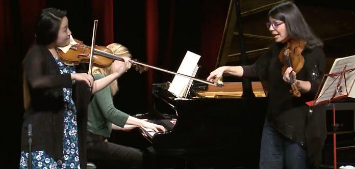 Pamela Frank Brahms Masterclass