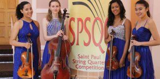 Saint Paul String Quartet Competition Cover
