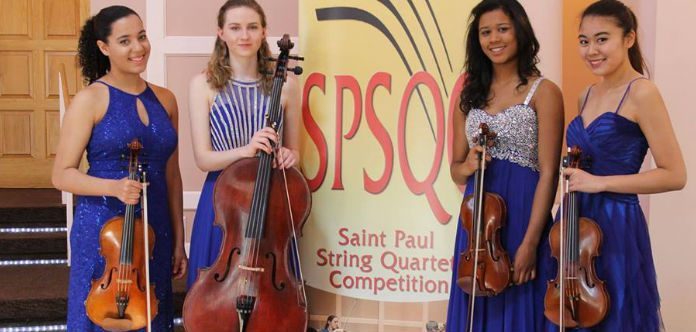 Saint Paul String Quartet Competition Cover
