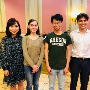 2018 Menuhin Competition Senior Finalists