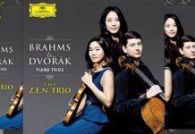 Zen Trio Brahms Dvorak Cover