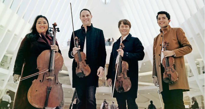 Calidore String Quartet IMG Artists