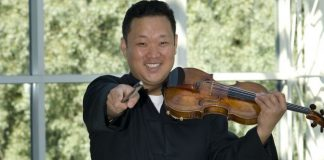 Dennis Kim Violin Violinist Cover