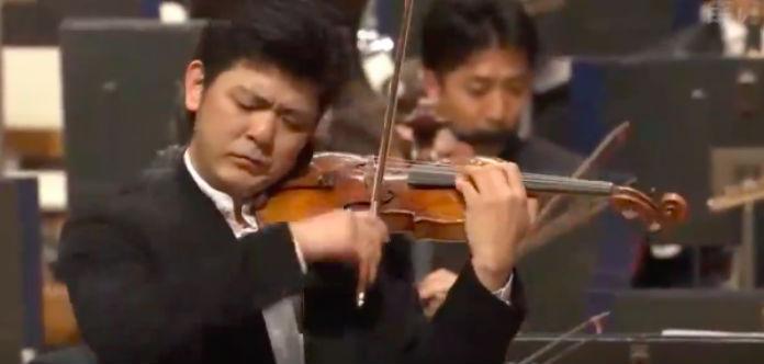 NEW TO YOUTUBE | Daishin Kashimoto - Saint-Saëns Violin
