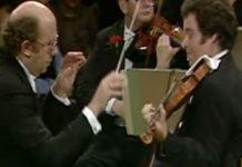 Itzhak Perlman Gennady Rozhdestvensky Prokofiev Cover