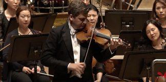 James Ehnes Bach Solo Sonata C Major Cover