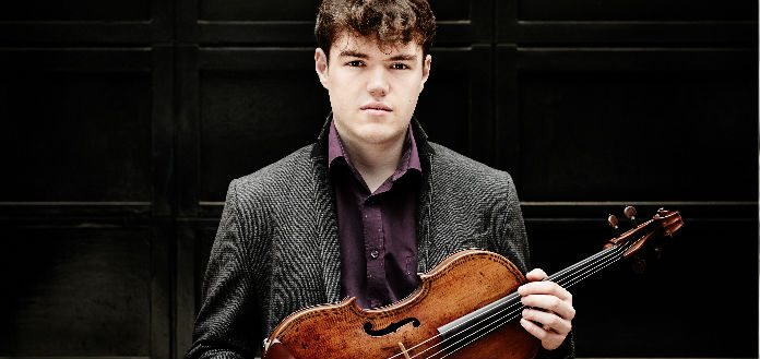 VC Young Artist Timothy Ridout Awarded Sommets Musicaux de Gstaad Festival Prize