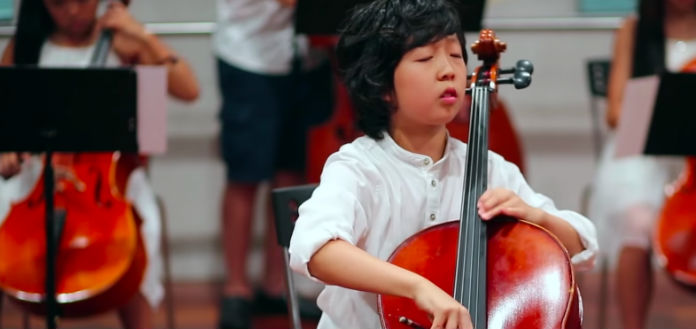 NEW TO YOUTUBE | Justin Yu & Joyous String Ensemble - Elgar