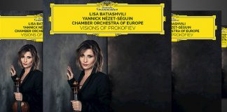 Lisa Batiashvili Visions of Prokofiev CD Giveaway Cover
