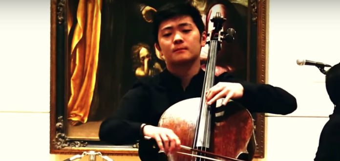 Brannon Cho Cellist Cover