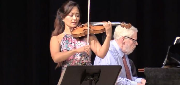 Chee Yun Miles Graber Brahms Violin Sonata Cover