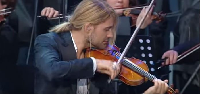 David Garrett Violinist Cover