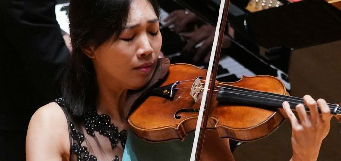 Nancy Zhou Shanghiai International Violin Competition Cover