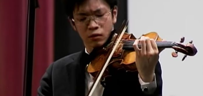 Paul Huang Violinist Tibor Varga Competition Cover