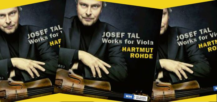 out now violist hartmut rohde s new cd tal works for viola