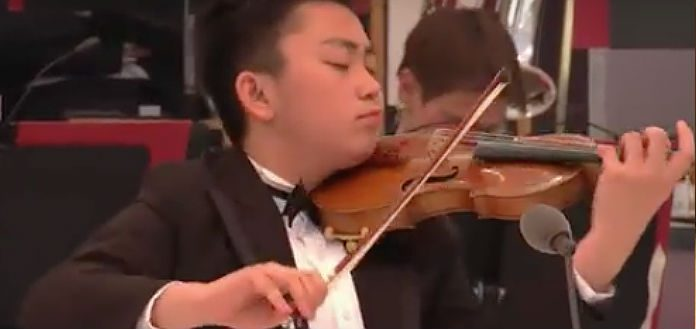 Ziyu He Eurovision Young Musicians Contest Cover
