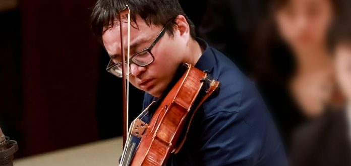 Diyang Mei Violist ARD International Viola Competition Cover