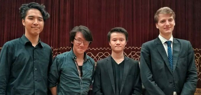Finalists Enescu International Cello Competition Cover