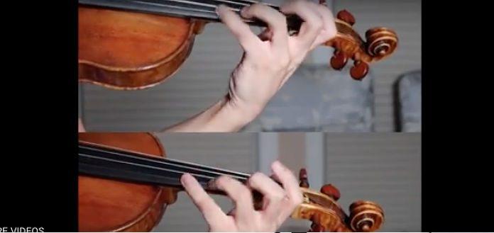 Kerson Leong LeClair Sonata Violin Cover