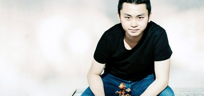 Ziyu He Violinist Cover