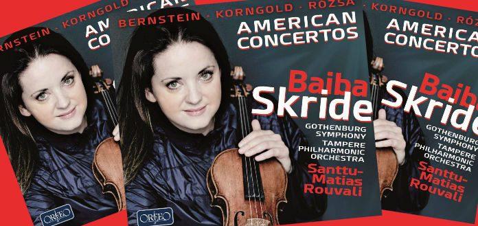 out now violinist baiba skride s new cd american concertos listen