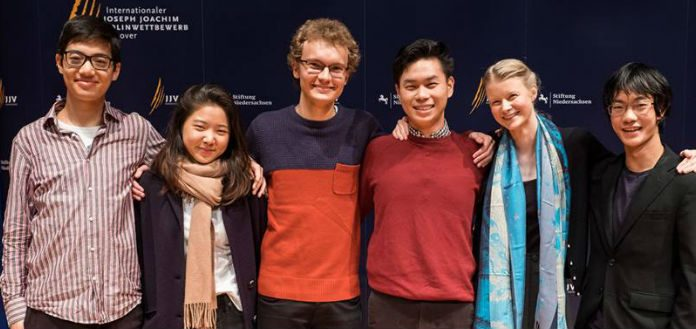 Hannover International Violin Competiton Finalists Cover