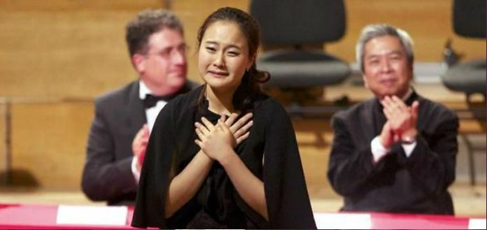 JiYoung Lim Queen Elisabeth Violin Competition Cover