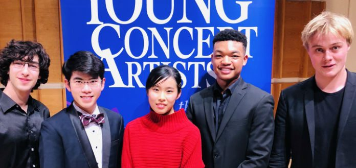 Young Concert Artists International Auditions Winners Cover