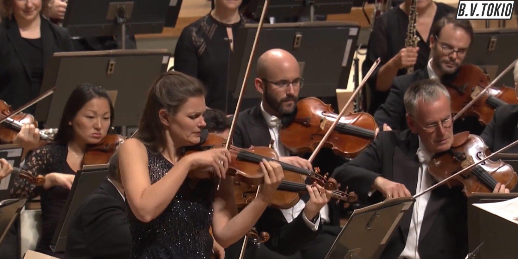 NEW TO YOUTUBE | Violinist Janine Jansen - Szymanowski