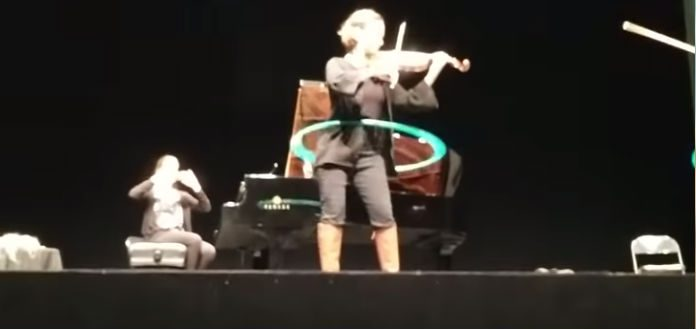 TwoSet Violin Hilary Hahn Hula Hooping Cover