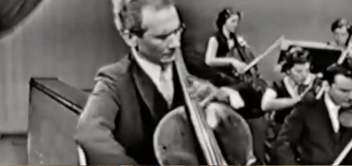 Aldo Parisot Saint Saens Cello Concerto Cover