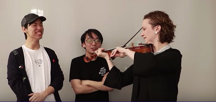Hilary Hahn Ling Ling WorkOut Cover