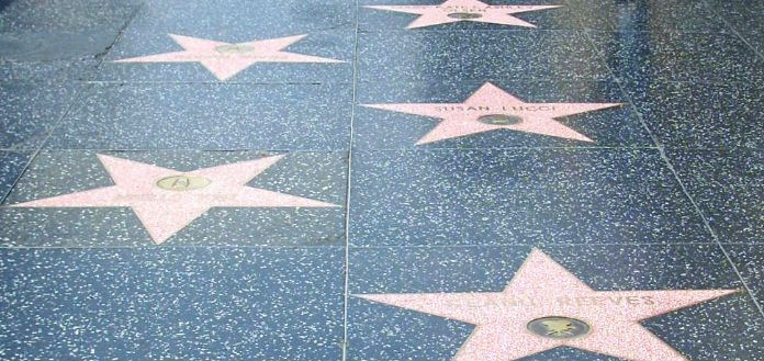 Hollywood Walk of Fame Stars Cover