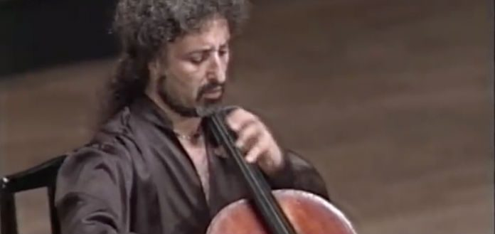 Mischa Maisky Cellist Cover