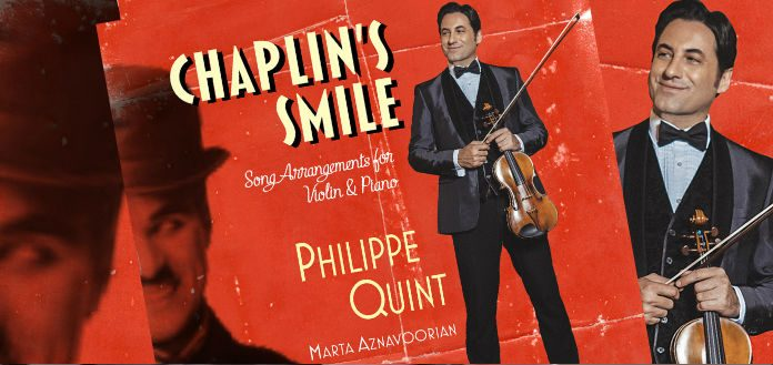 Philippe Quint Chaplins Smile Warner Classics Cover