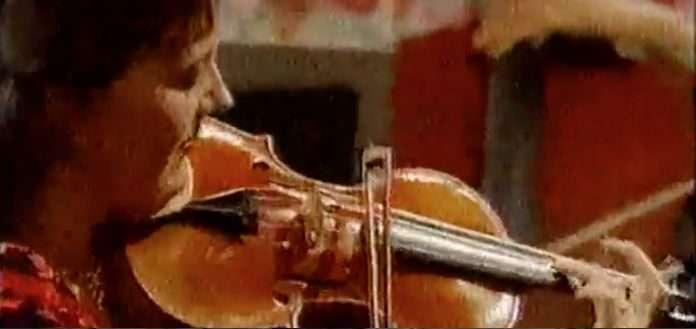 Tasmin Little 1995 BBC Proms Violinist Cover