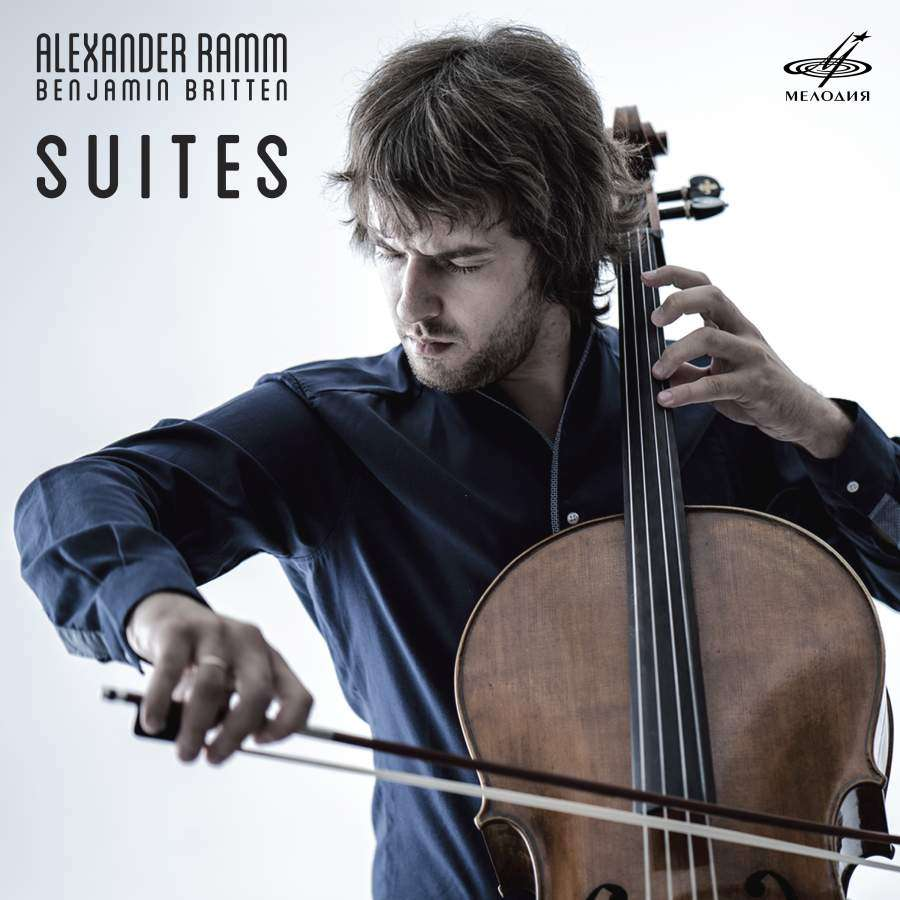 OUT NOW | Cellist Alexander Ramm's New CD: 'Benjamin Britten Suites' [LISTEN]