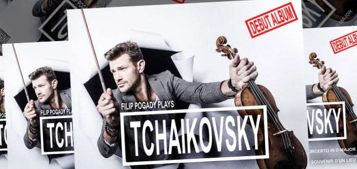 Filip Pogady Tchaikovsky CD Album Cover