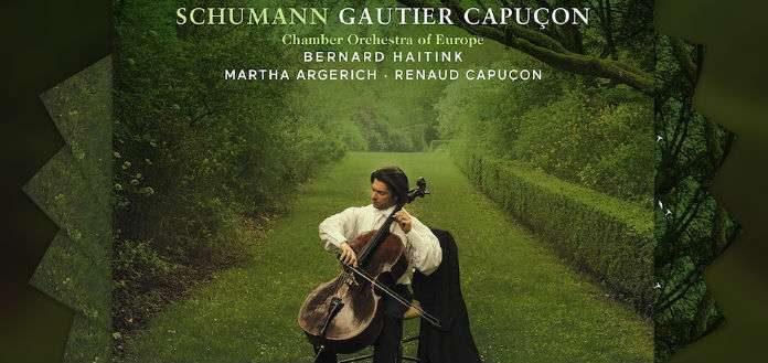 Gautier Capucon Schumann CD Cover